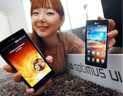 LG anuncia nova interface para dispositivos com Android 4.0