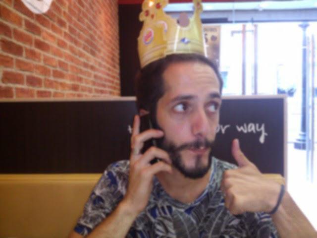 corona de rey burguer king