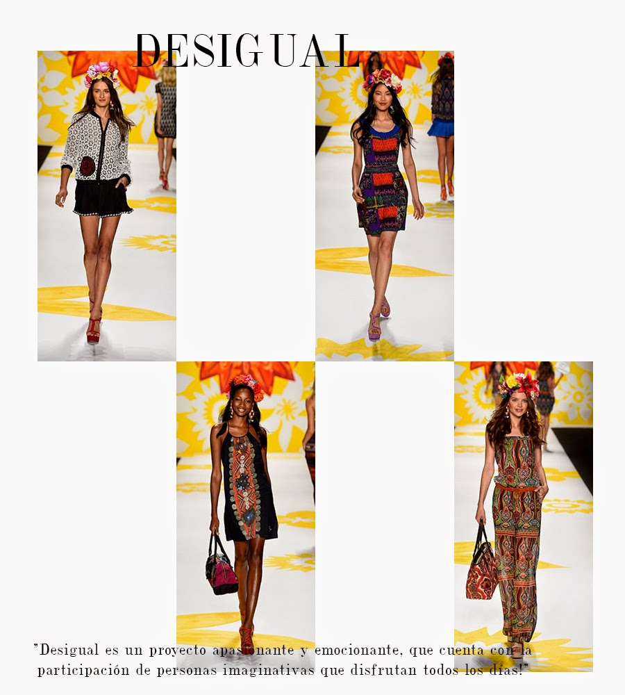 MBFW, desigual ss 2015, desigual spring summer 2015,  mbfw ss 2015, ss 2015, nyfw, mercedes benz fashion week, spring summer season 2015, ready to wear, new york fashion week, alina a la mode, fashion blog cali, alina a la mode blog, alina van eickelen