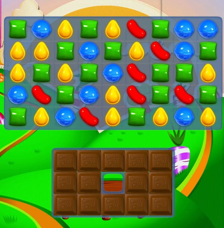 Candy Crush Saga Niveau 73