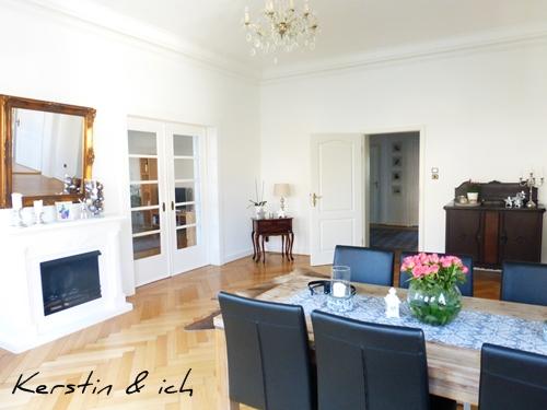 Altbau Villa Esszimmer Interior Wohnen