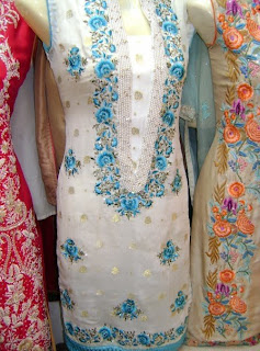 Frocks and Long shirts with trousers and Embroidery 2011