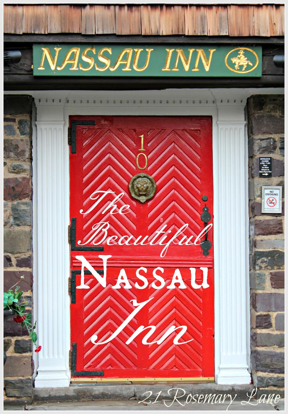 A Peek Inside Princetonu0027s Historic Nassau Inn