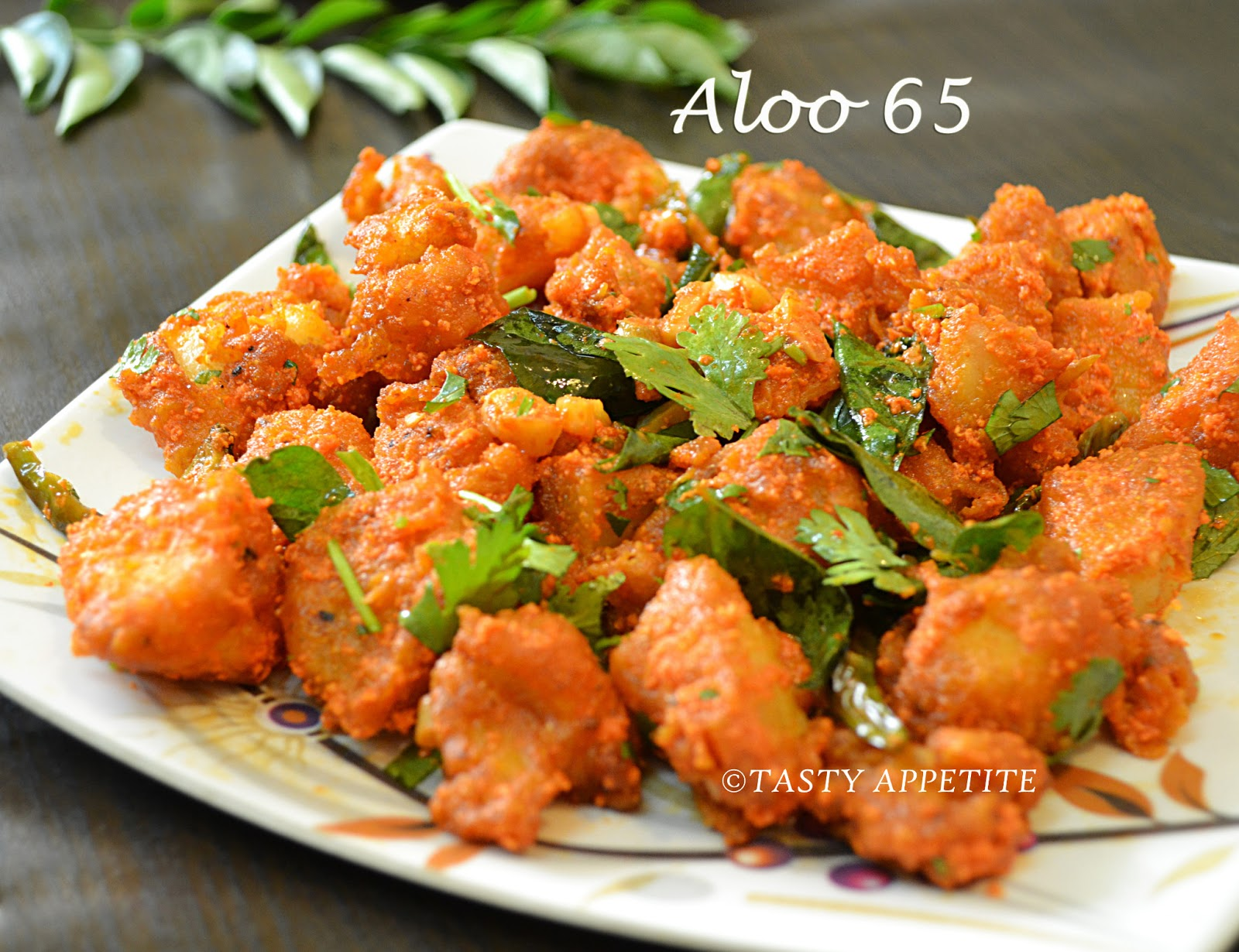 How to make aloo 65 potato 65 easy step by step recipe for Quick snacks to make with potatoes