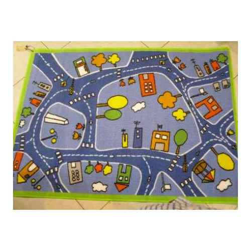 Alfombras pistas de carreras decoractual dise o y - Alfombras para jugar ninos ...