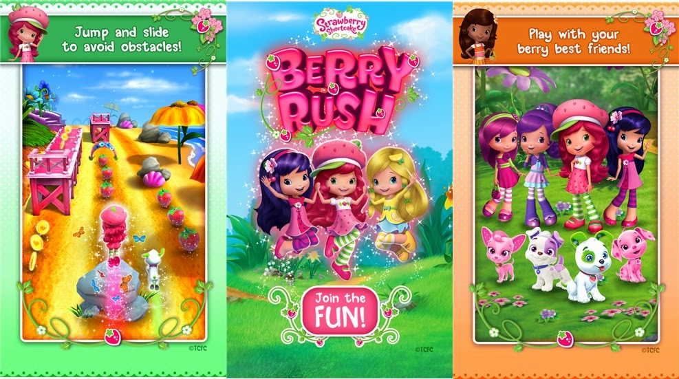 Strawberry shortcake berry rush for windows phone
