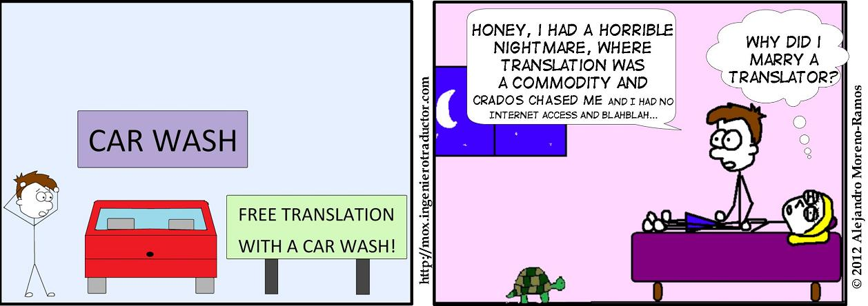 translation is a commodity