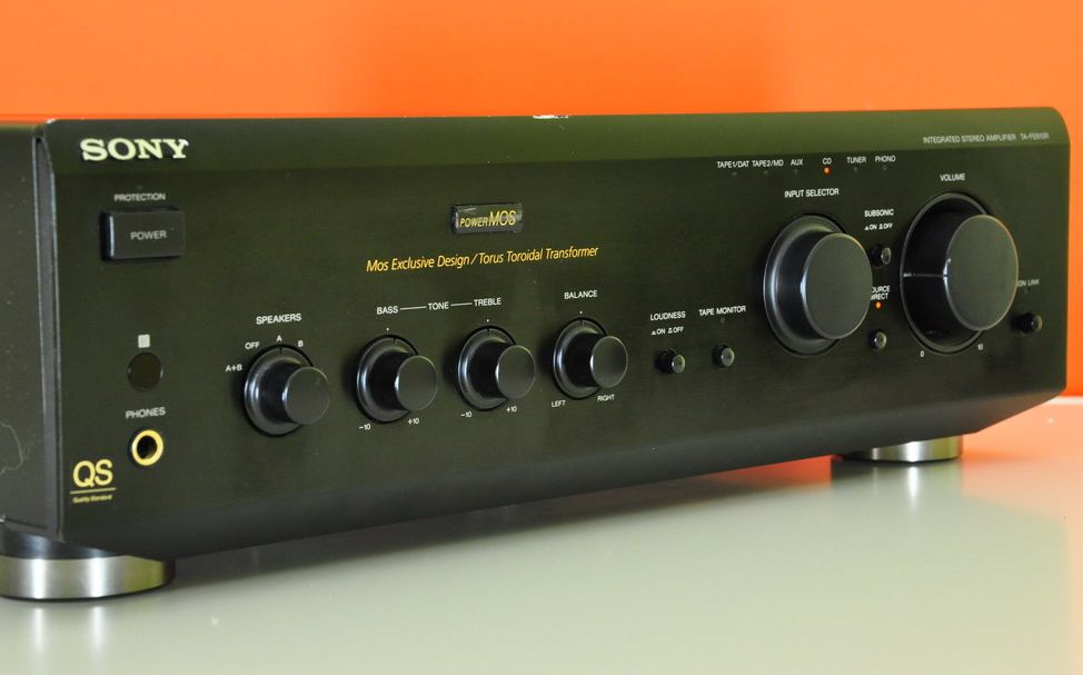 Sony Ta Fe610r Integrated Amplifier Audiobaza