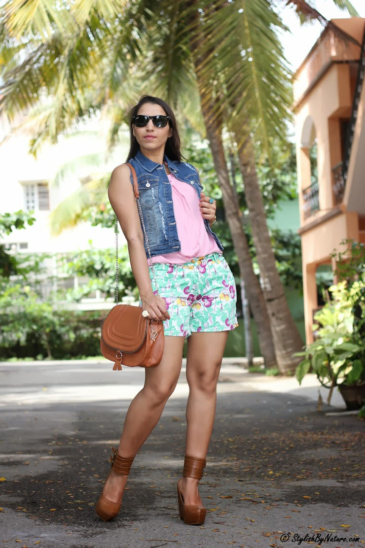 tropical shorts India