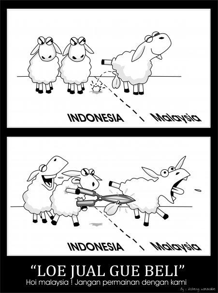 Komik kambing - lo jual gue beli