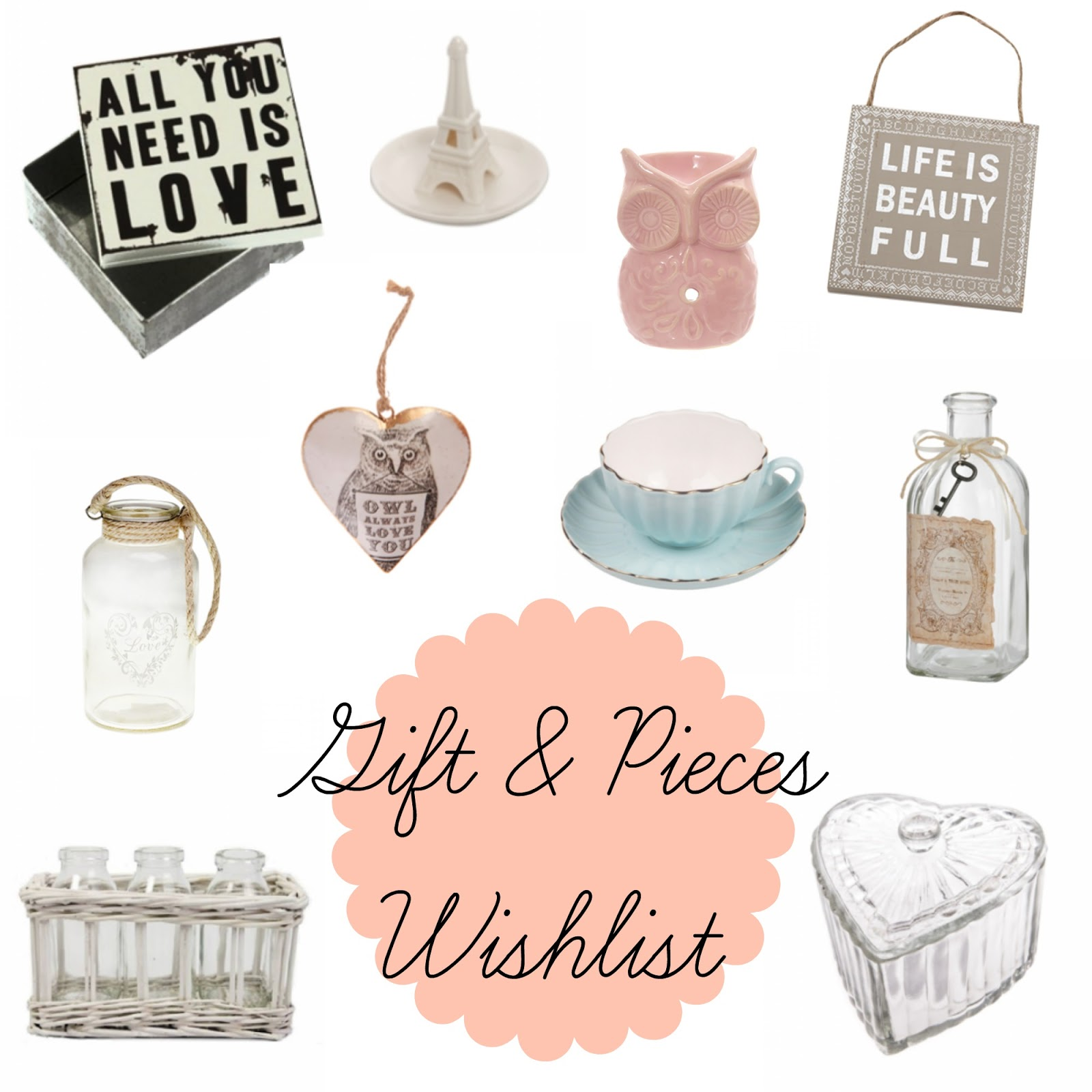 Gift and Pieces Wishlist