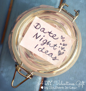 DIY Valentines Gift - Date Night Jar