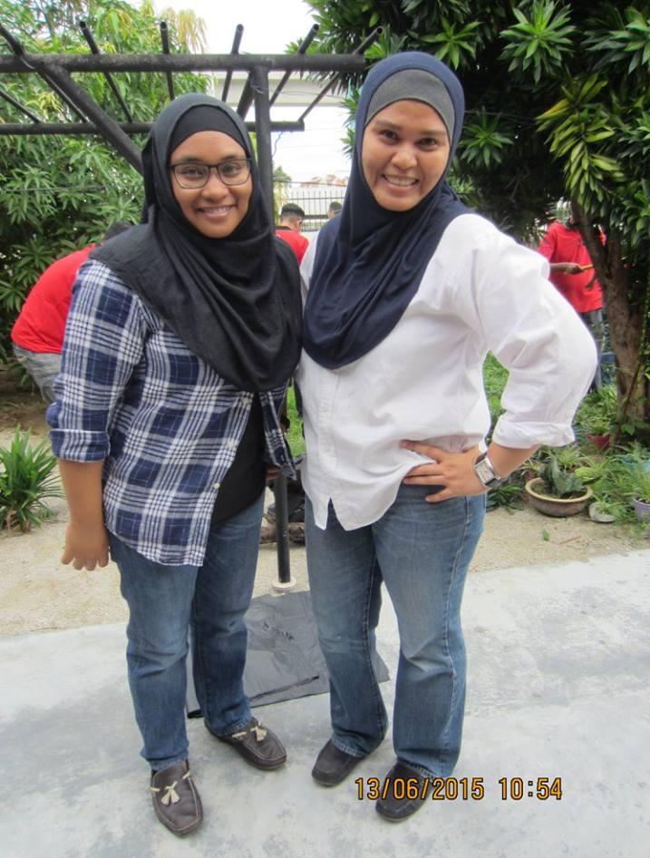 Our Staff Amalia and Nusrat