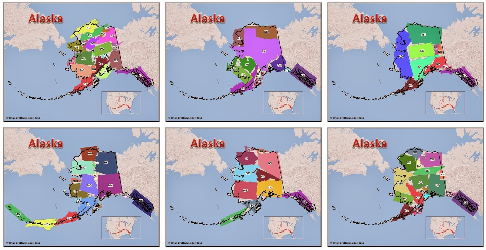 Brian Bs Climate Blog Alaska Size Comparison Maps - Us map alaska real size