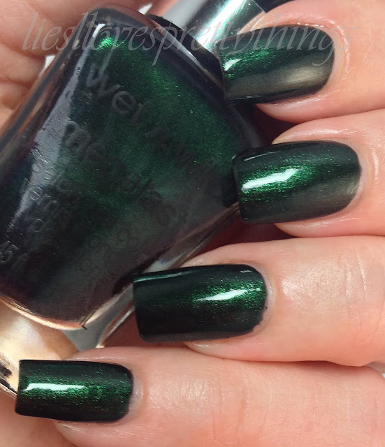 WetnWild Poison Ivy swatch and review