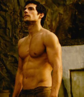Henry Cavill hardcore ripped body for immortals
