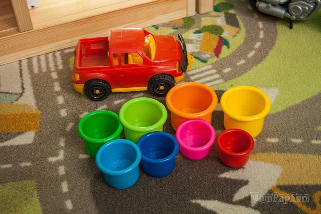 покраска игрушечных машин