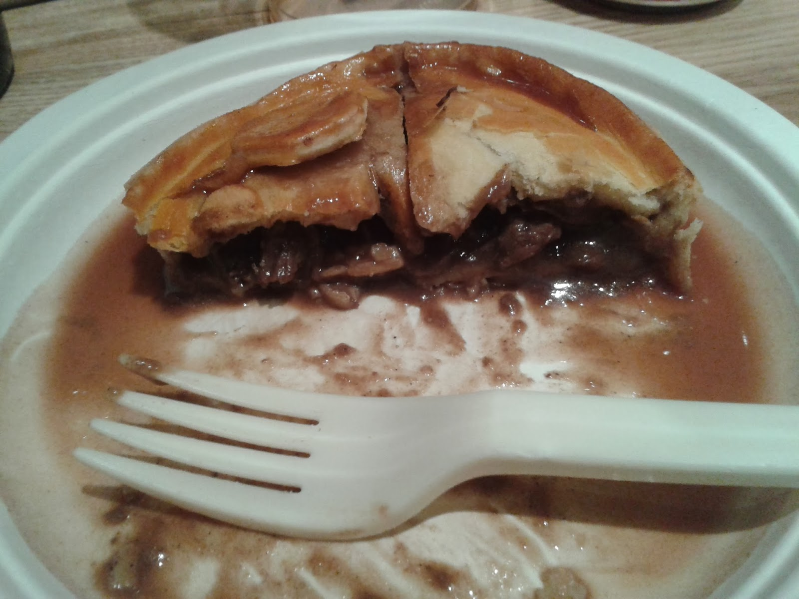 Piebury Corner Venison, Ox Cheek and Mushroom Pie Review