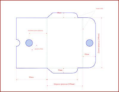 Конверт схема из а4