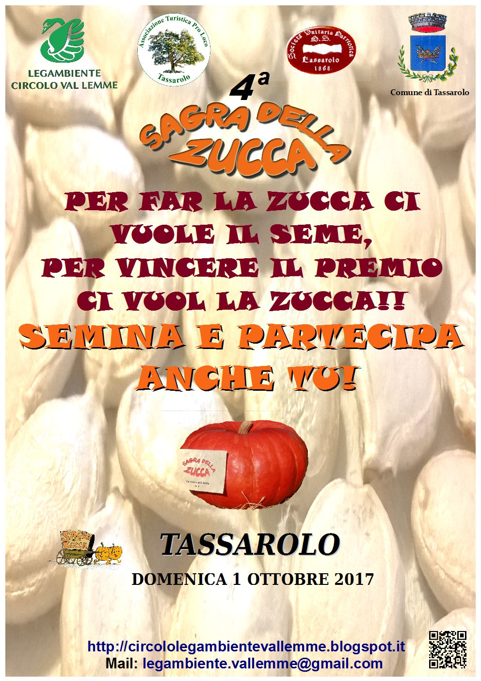 IV SAGRA DELLA ZUCCA E MERCATO CONTADINO