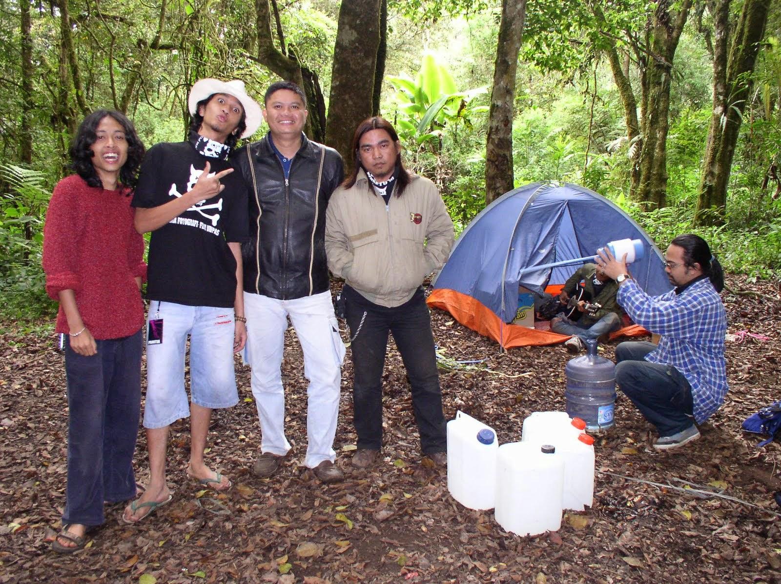 OPMB Jurusan Fotografi dan Film di Ranca Upas. 2004