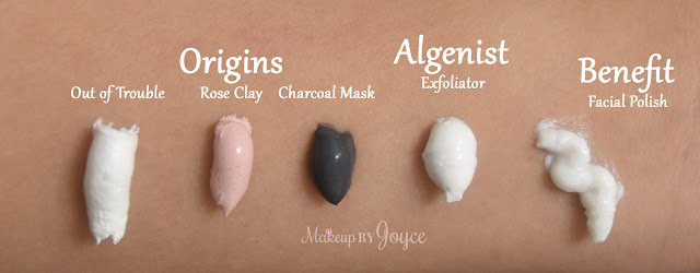 Origins Clear Improvement Active Charcoal Mask To Clear Pores Swatch Review