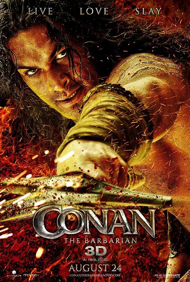 Hindi Dubbed Movie Conan the Barbarian (2011) Full Movie Watch Online