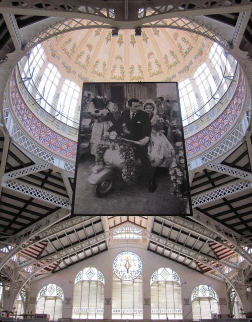 Blogger Traveller Valencia: Mercado Central (bóveda central)
