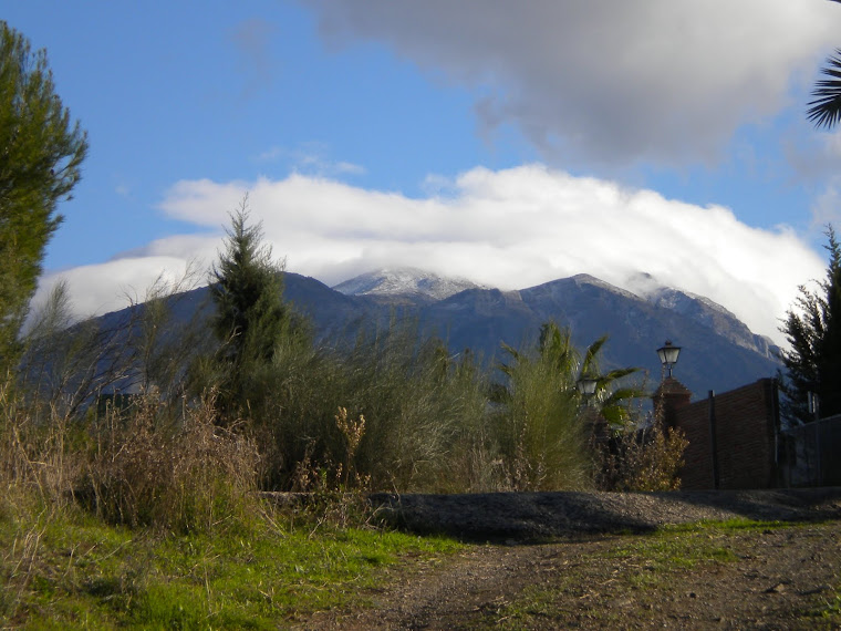 La Maroma, primeras nieves