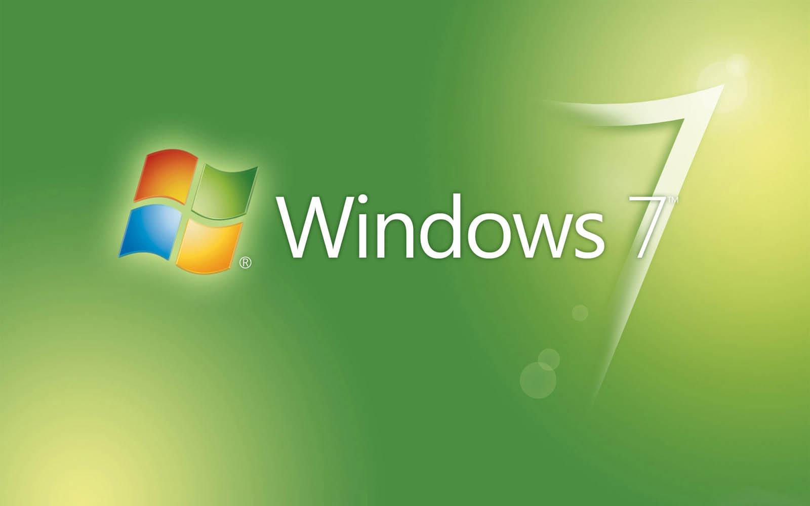 Windows 7 Themes Wallpaper wallpapers: Green Wind...