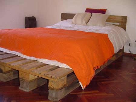Camas recicladas 10 ideas para reciclar for Reciclar una cama de madera