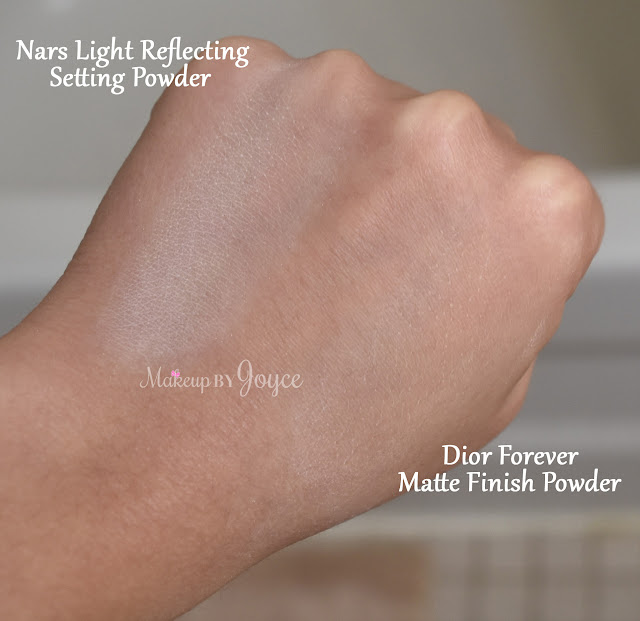 Nars Light Reflecting Loose Setting Powder Swatch