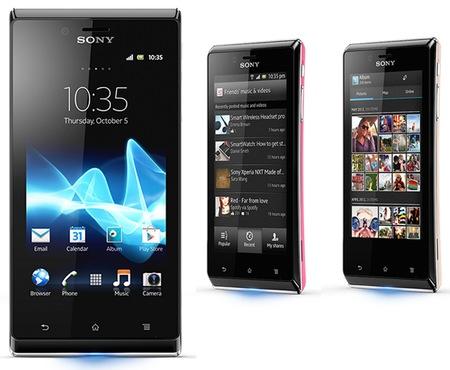 Sony Xperia J Bergaya dengan Desain Eye-Catching