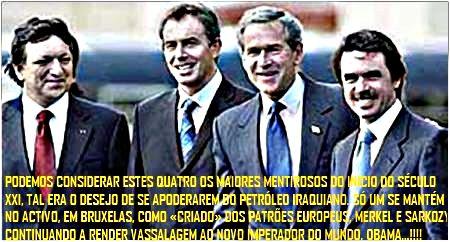 MENTIROSOS E CORRUPTOS