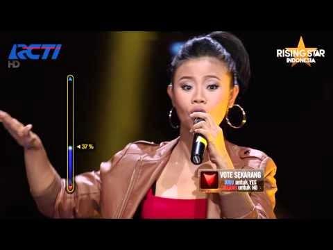 Evony Arty 9 Besar Rising Star Indonesia
