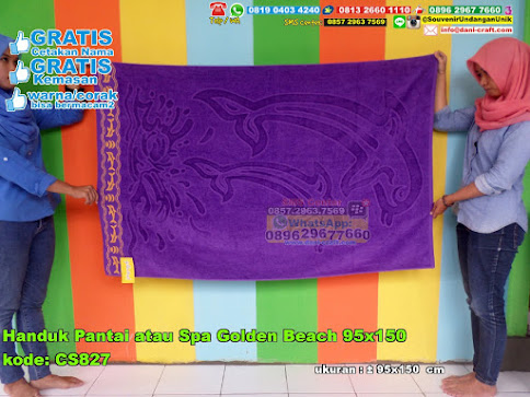 Handuk Pantai Atau Spa Golden Beach 95x150