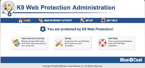 K9 WEB PROTECTION - SOFTWARE PER PROTEGGERE I BAMBINI SUL WEB