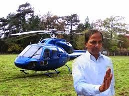 kcr-went-in-helicopter-for-casting-vote