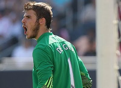 De Gea Chicago Fire vs Manchester United
