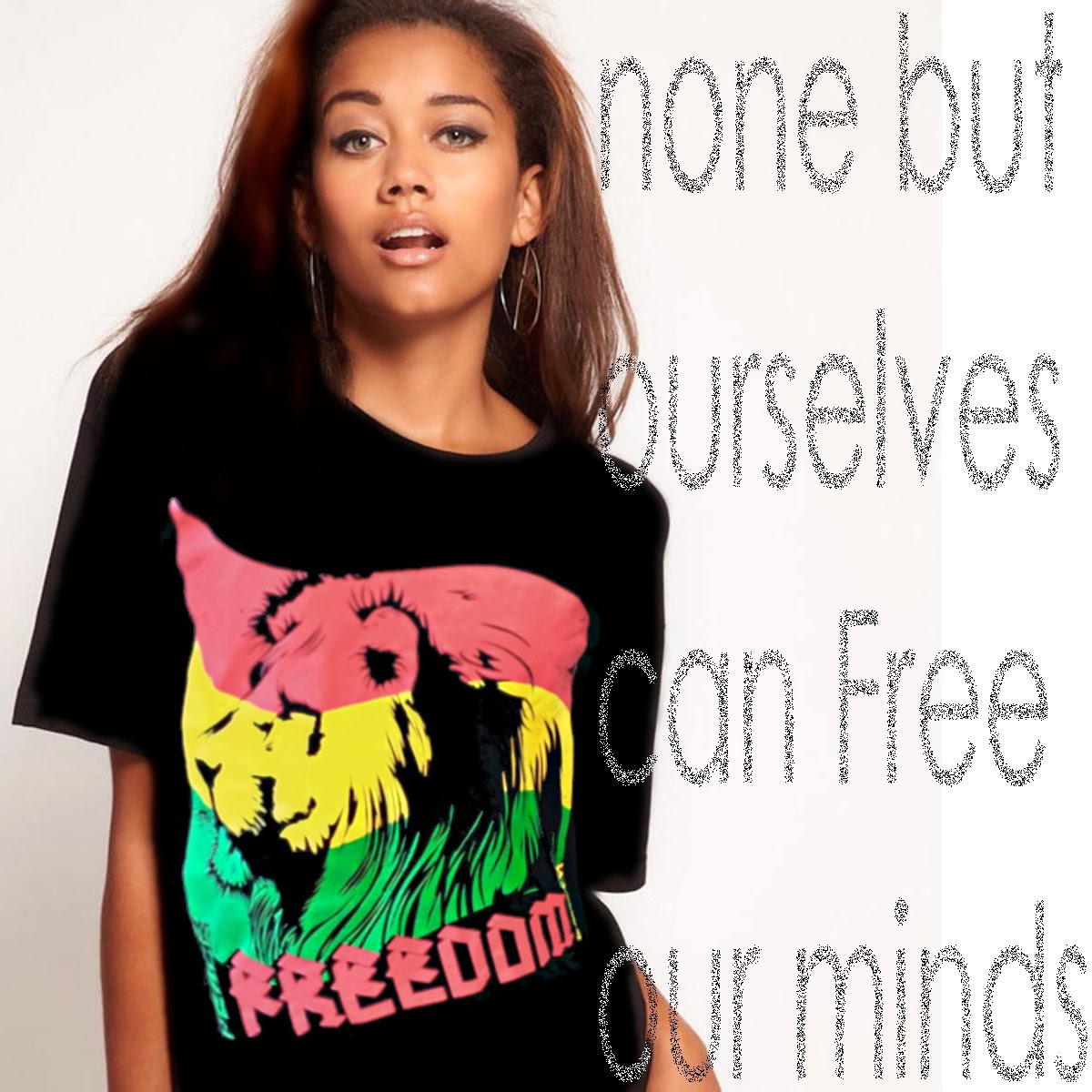 Bob Marley Rasta T-Shirt from Edge SST
