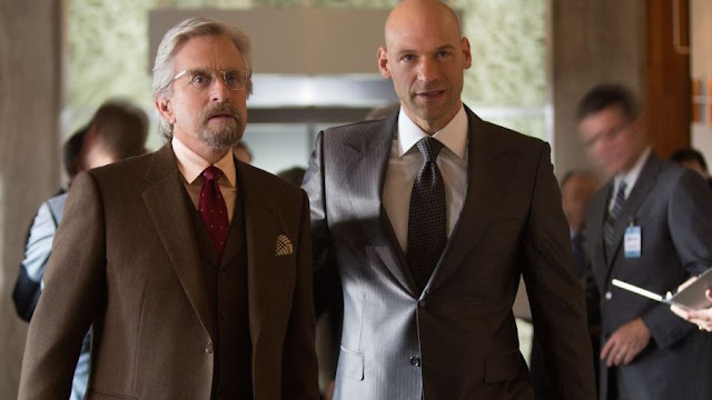 Michael Douglas and Corey Stoll class up a minor movie with major talent