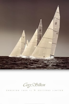 Sailboats Racing