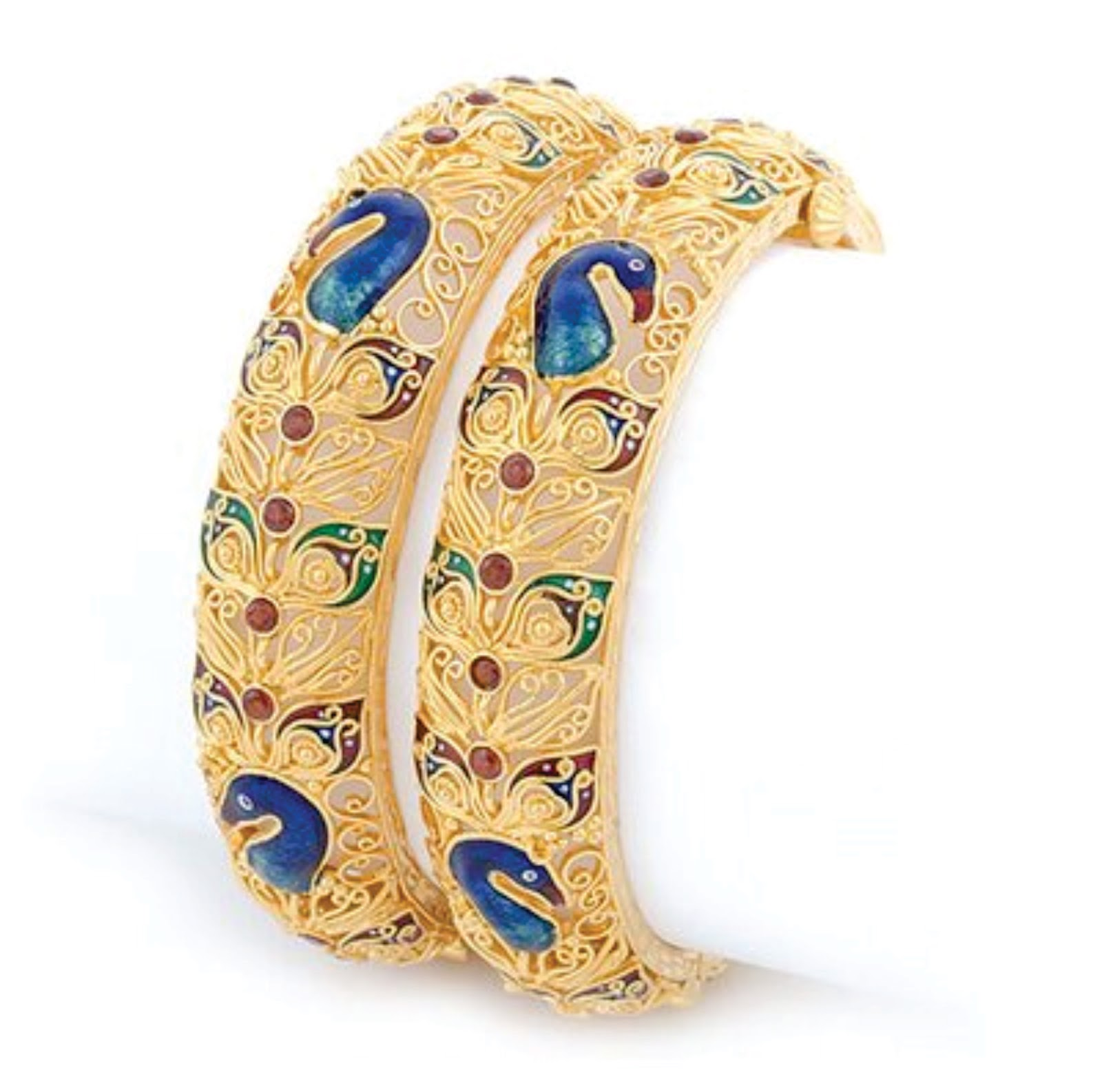 Luxury Latest Indian Gold Bangles Designs | Jewellry\'s Website