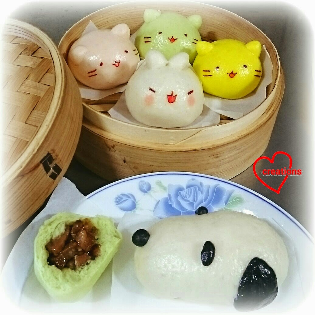 Loving Creations for You Mitchiri Neko Molang Snoopy Char Siew
