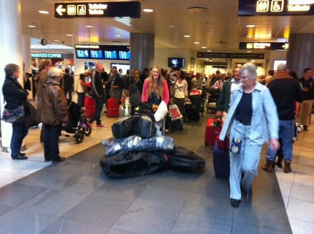 sova på malmö flygplats