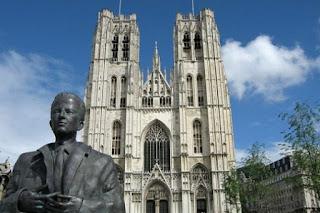 Catedral de San Miguel y Gudule en Bruselas