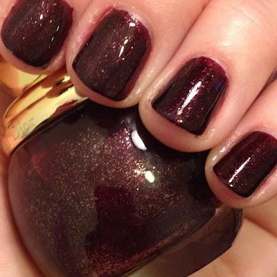 Dior, Dior Diorific Minuit, nail polish, nail varnish, nail lacquer, manicure, mani monday, #manimonday, nails