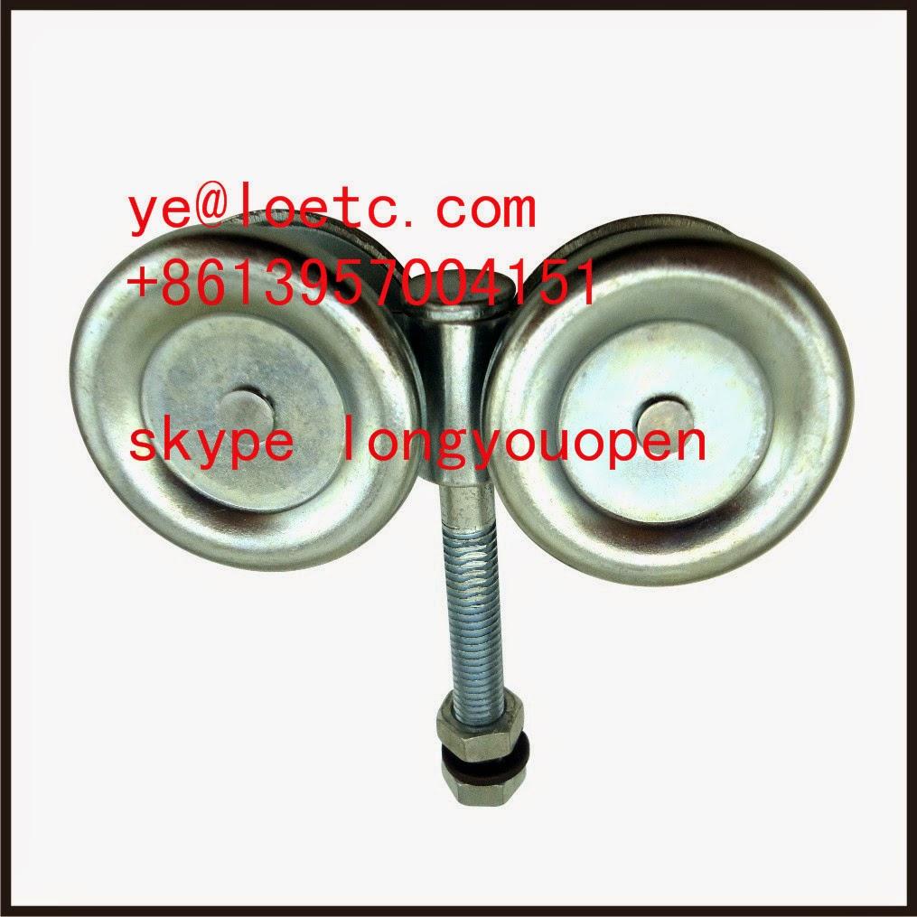 Sliding gate wheel door track hanger for Track hanger