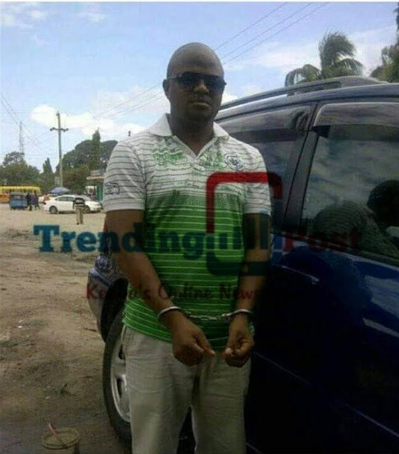 photo of the evil tanzanian business man who buried his girlfriend in a pit for 8 months so as to get rich quickly