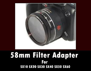 Janco 58mm Filter Adapter